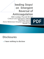 Handout Anticoagulation Reversal ED