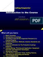 Introduction to the Course for Coatings Inspector by IW