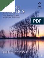 Applied Statistics From Bivariate Through Multivariate Techniques.pdf