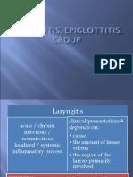 Laringitis & Croup