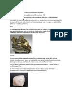 Calcopirita MINERALES
