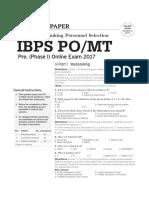 IBPS exam