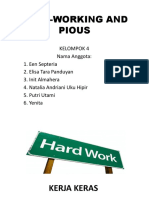 Hard-working and Pious Ppt