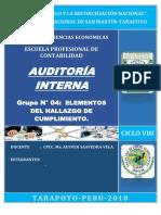 G 4 - AUDITORIA INTERNA- ELEMENTOS DEL HALLAZGO.docx