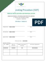 SOPs-IMT.ssm.04 Return of Medical Devices