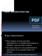 Agnel Wage Administration 1