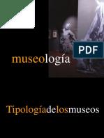 museografía y tipología  los museos