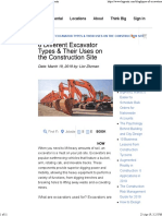 6 Different Excavator Types & Their Uses — BigRentz