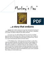 Monkeys Paw Student Packet