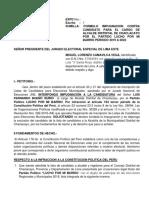 Impugnacion Luis Bueno