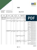 Resumen POA Carrera de Ingeniería Comercial