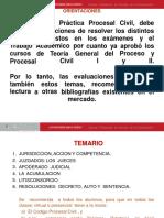 Semana 1 Practica Procesal Civil - Jurisdicción, Accion,