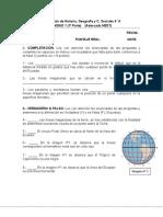 Evaluación Historia coordenadas - NEET