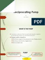 Reciprocating Pump Ppt L-2 T-1