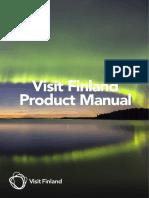 Visit Finland Product Manual 2016
