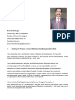Resume Devesh Bhatnagar Manager Admin Nov-2018