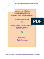20 Solved Problems in Design by Eng'r. Ben David