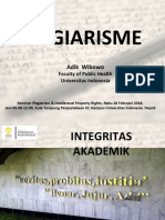 Materi - Plagiarism (Prof Adik Wibowo)