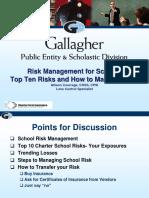 Risk Management Schools