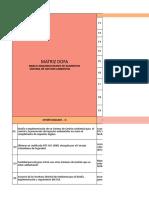 Anexo E. Matriz DOFA, despligue de la politica del SGA y SG-SST.xlsx