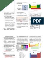 Tabla Periódica, Configuración Electrónica y Enlace Químico de Los Elementos