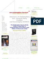 Secured Party Creditor and Strawman UCC Work With Redemption Manual