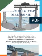 Efectos de Las Pilas de Un Puente