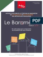Baromètre 2018 - Arthur Loyd