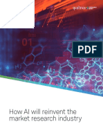 How AI Will Reinvent Market Research