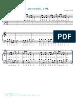 Exercicios de Piano