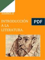 Tema 1.Introducción a La Literatura