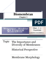 Chapter 1. Introduction the Structure and Composition of Biomembranes