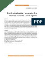 Maggio - Entre La Inclusión Digital y La Recreacion de La Enseñanza