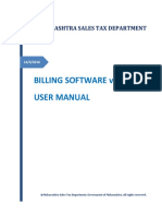 MSTD_BillingSoftware_ User Manual Ver 1.01