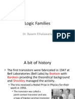 EEDP Lect 09 Logic Families