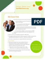 Spot Skin Cancer Fact Sheet