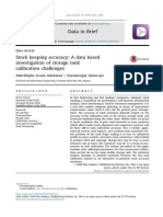 Stock Keeping Accuracy a Data Based Investigation of Storage Tank Calibration Challenges