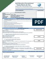 Evaluacion - Educacion Artistica Primero Bgu Remedial - 2014