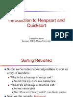 7. Heap Sort and Quick Sort-2