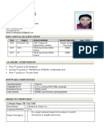 Astha Resume