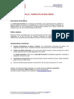 406 y 408- Cartilla Cuenta Plus Inclusión - Marzo2018