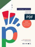 2019, le catalogue général des Presses de l'Enssib