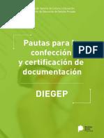 Pautas Para La Confeccion y Certificacion de Documentacion 3