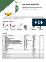 Manual Kit Seguidor de Liena Con Resistencias Dip Mecatronica Espa_ol