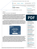 Resumen La Vida de Google- Cultura Organizacional - Ensayos y Trabajos - Karen9221
