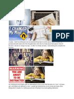 uwrt visual representation of reading and writing process