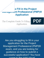 How to fill up PMP Application.pdf