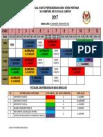 01 Jadual Waktu Versi Pertama 2017