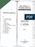 353797117 Pe Leonel Franca Alocucoes Tomo I PDF