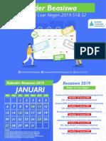 kalender beasiswa 2019